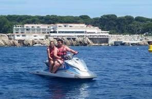 Initiation au Flyboard et session de Jet ski près de Nice