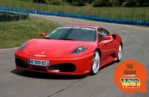 Stage en Pilotage de Ferrari F430 - Circuit de Monthéry