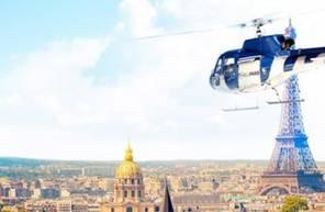Baptême en hélicoptère - Vol à Paris