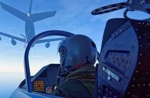 Simulateur avion de chasse près de Nantes
