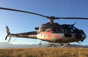 Baptême de l'air en hélicoptère à Saint-Girons