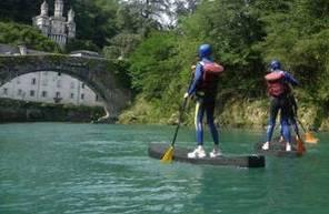 Cours de Paddle près de Pau