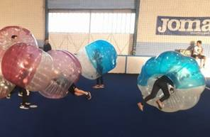 Bubble Football à Cavaillon