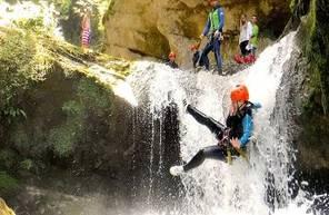 Canyoning Ecouges Bas Grenoble