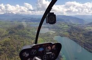 Vol panoramique en hélicoptère à Grenoble