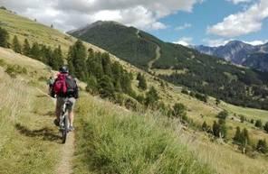 Randonnée de 5 jours en VTT Électrique dans le Queyras
