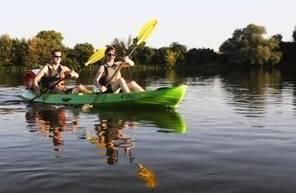 Balade en Canoë-Kayak sur la Loire près d'Orléans