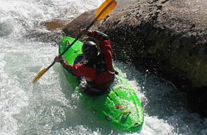 Descente en Kayak à Itxassou dans le pays basque