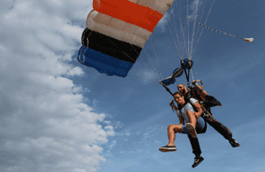 Saut en parachute tandem à Périgueux