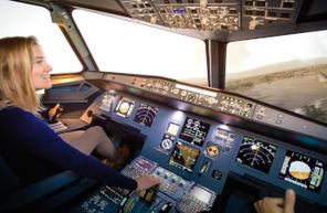 Simulateur en avion Airbus A320 à Aix en Provence
