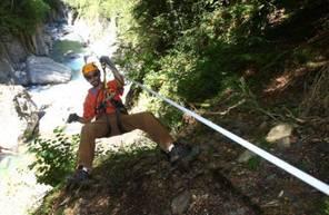 Parcours Acrobatique en Hauteur composé de tyroliennes près de Lourdes