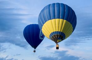 Vol en Montgolfière au dessus des Lacs de Charente près d'Angoulême