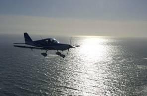 Baptême de l'air en avion - Vol au dessus du bassin d'Arcachon
