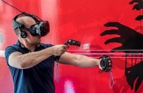 Jeux en immersion grâce à un simulateur de Réalité Virtuelle à Lyon
