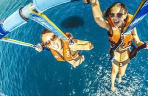 Vol en parachute ascensionnel à Sainte Maxime