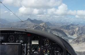 Baptême de l'air en planeur - Vol à la découverte du Mont Blanc