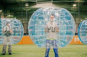 Partie de Bubble Bump au Havre