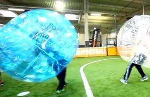 Partie de bubble bump à Paris