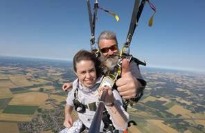 Parachute Tandem à proximité de Meaux