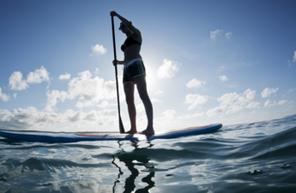 Balade en Paddle au Cros-de-Cagnes près de Nice et d'Antibes