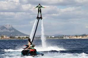Initiation au Flyboard ou au Flyride à La Seyne-sur-Mer, Sanary-sur-Mer, Carqueiranne ou La Londe les Maures