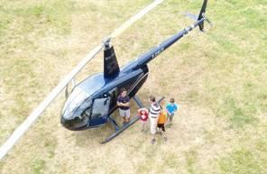 Baptême en Hélicoptère dans l'Hérault - Vol en hélicoptère à Béziers