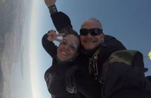 Saut en parachute tandem en Haute Garonne près de Toulouse Sud