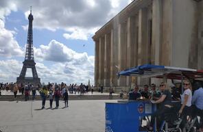 Visite et découverte insolite de Paris lors d'une balade en vélo-bar