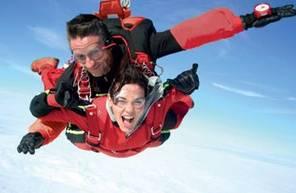 Saut en Parachute Tandem à Revel entre Castres et Toulouse