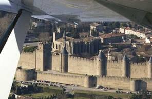 Baptême de l'air en avion à Carcassonne