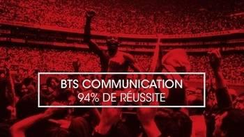 94% DE RÉUSSITE AU BTS COMMUNICATION POUR LE CESACOM PARIS