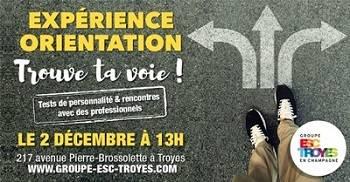 Le Groupe ESC Troyes vous invite à sa journée d' Orientation 2017