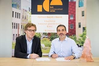 Partenariat ICN Business School et Daum
