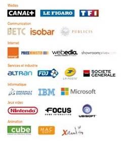 Entreprises partenaires IIM