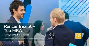 Salon QS World MBA Tour à Paris le Samedi 6 octobre 2018