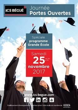 JOURNÉE PORTES OUVERTES ICS Bégué - Spéciale « Grande École »