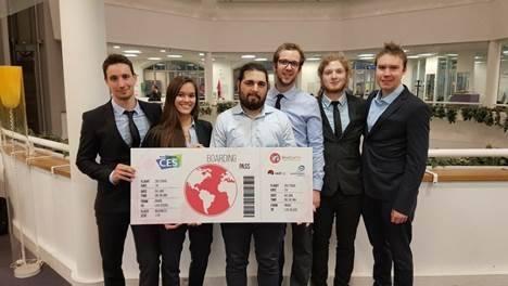 Les élèves-ingénieur-e-s de l'EPF remportent le 1er prix du Challenge DevoGame 2016