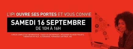 L'IPI ouvre ses portes et vous convie samedi 16 septembre de 10h à 16h !