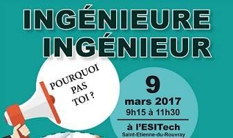 11e Conférence : « Ingénieure/ingénieur, pourquoi pas toi ? »