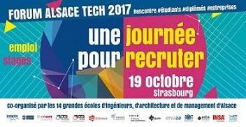 Forum Alsace Tech entreprises 19 octobre 2017