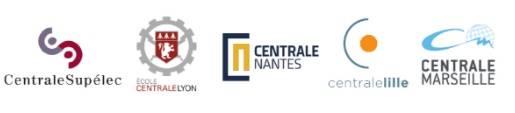 Le Concours CASTing permet d'intégrer les écoles Centrale : Lille, Lyon, Marseille, Nantes et Paris