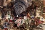 Turquie Istanbul - illustration du Grand Bazar