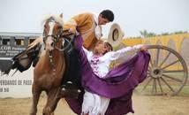 Pérou - Trujilllo - spectacle de Marinera