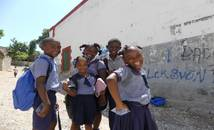Haïti - Ecoliers