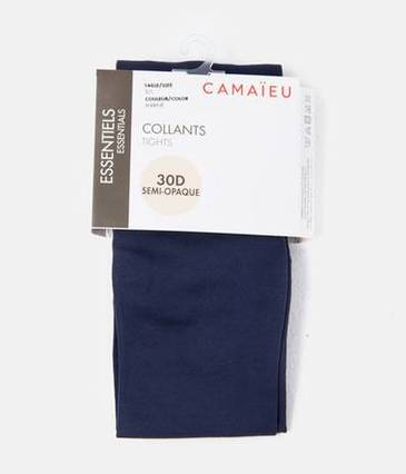 Collants semi-opaque femme